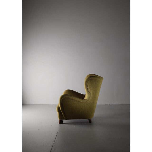Boet Otto Schulz High Back Armchair for Boet, Sweden, 1930s For Sale - Image 4 of 5