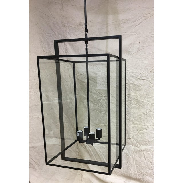Contemporary Halle Medium Lantern by Ian K. Fowler for Visual Comfort For Sale - Image 3 of 7