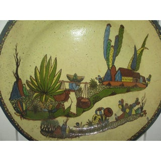 Vintage Mexican Tlaquepaque Charger, Signed Arias Preview