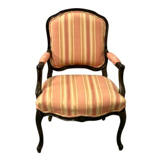 Brunschwig & Fils French Style Arm Chair For Sale