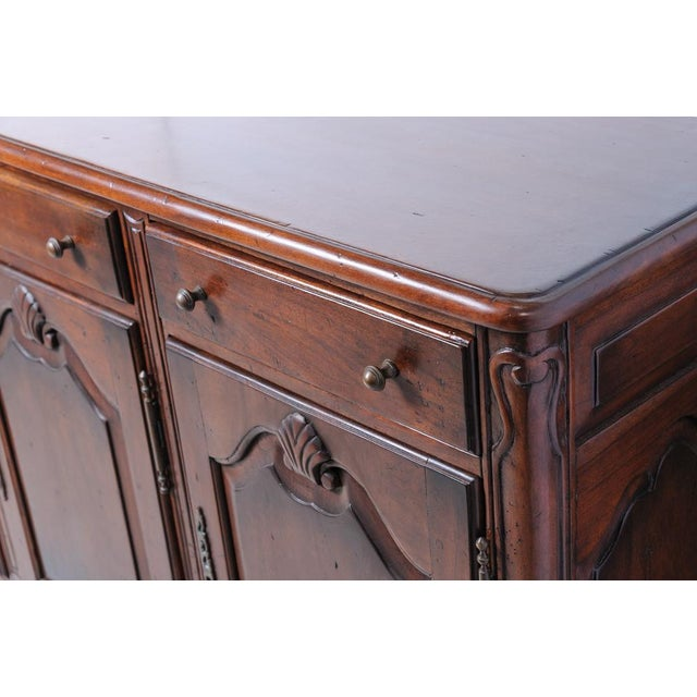 French Walnut Buffet Base For Sale - Image 4 of 7