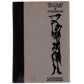 """1935 """"Poe's Tales of Mystery & Imagination"""" Coffee Table Book For Sale"""