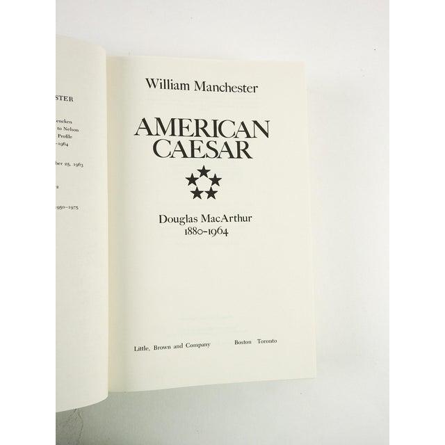 "American ""American Caesar: Douglas MacArthur 1880 - 1964"" Military History Book For Sale - Image 3 of 7"