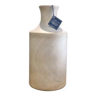 Neutral Swirl Vase For Sale
