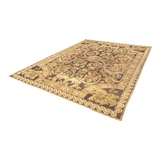 Fine French Aubusson Needle Point Rug For Sale