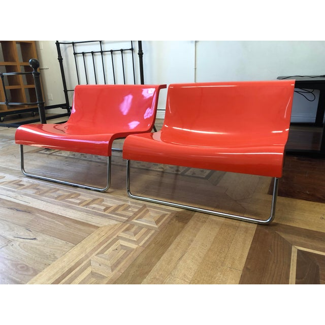 Design Plus Gallery has a Pair of Form Lounge chairs by Kartell. Designed by Piero Lissoni. The basic element of the Form...