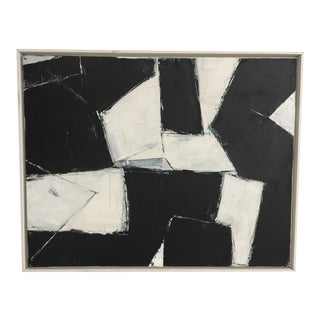 Kimberly Moore Abstract Rectilinear Painting #9