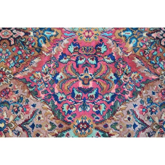 *STORE ITEM #: 17047-fw Karastan #717 Multi Panel Kirman Large Room Size Rug AGE / ORIGIN: Approx 25 years, America...