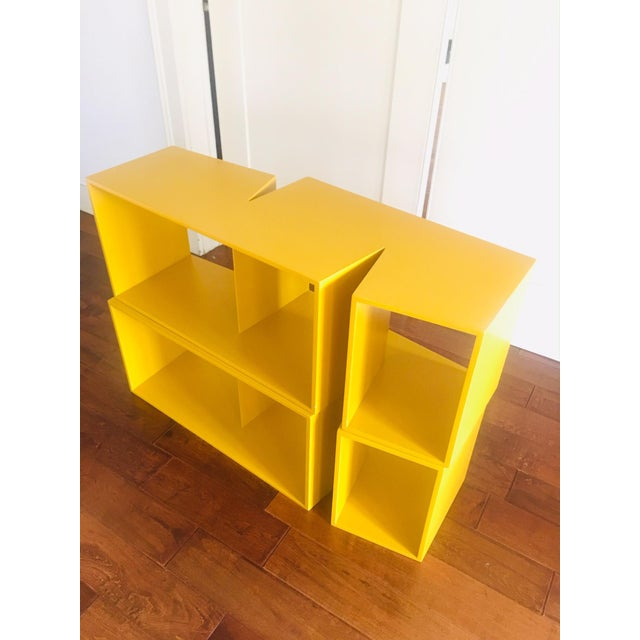 "Contemporary ""Cut"" by Philippe Nigro Ligne Roset Bookshelf For Sale - Image 3 of 6"