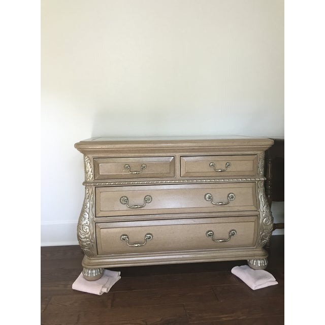 1990s Traditional Marge Carson Bombe Chest For Sale - Image 6 of 6