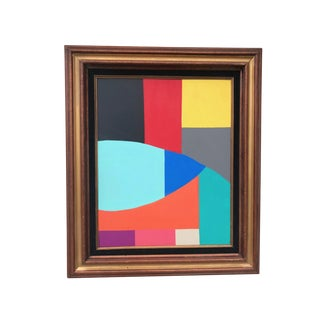 Abstract Acrylic Painting by Tony Marine For Sale