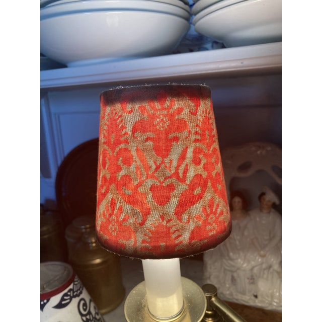 Not Yet Made - Made To Order Fortuny Chandelier Shade For Sale - Image 5 of 5