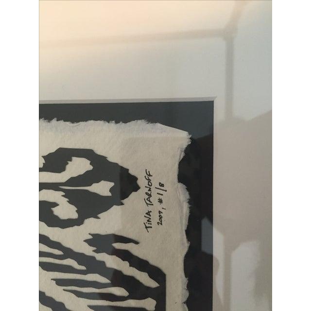 Framed Ikat Handmade Art - Pair of 2 - Image 8 of 10