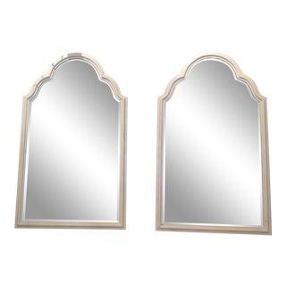 Hollywood Regency Vanity Mirrors - a Pair