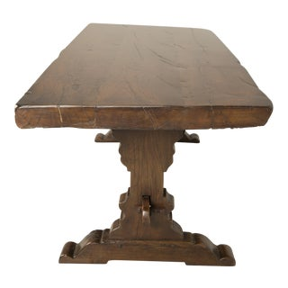 Antique French Trestle Dining Table, Circa 1800