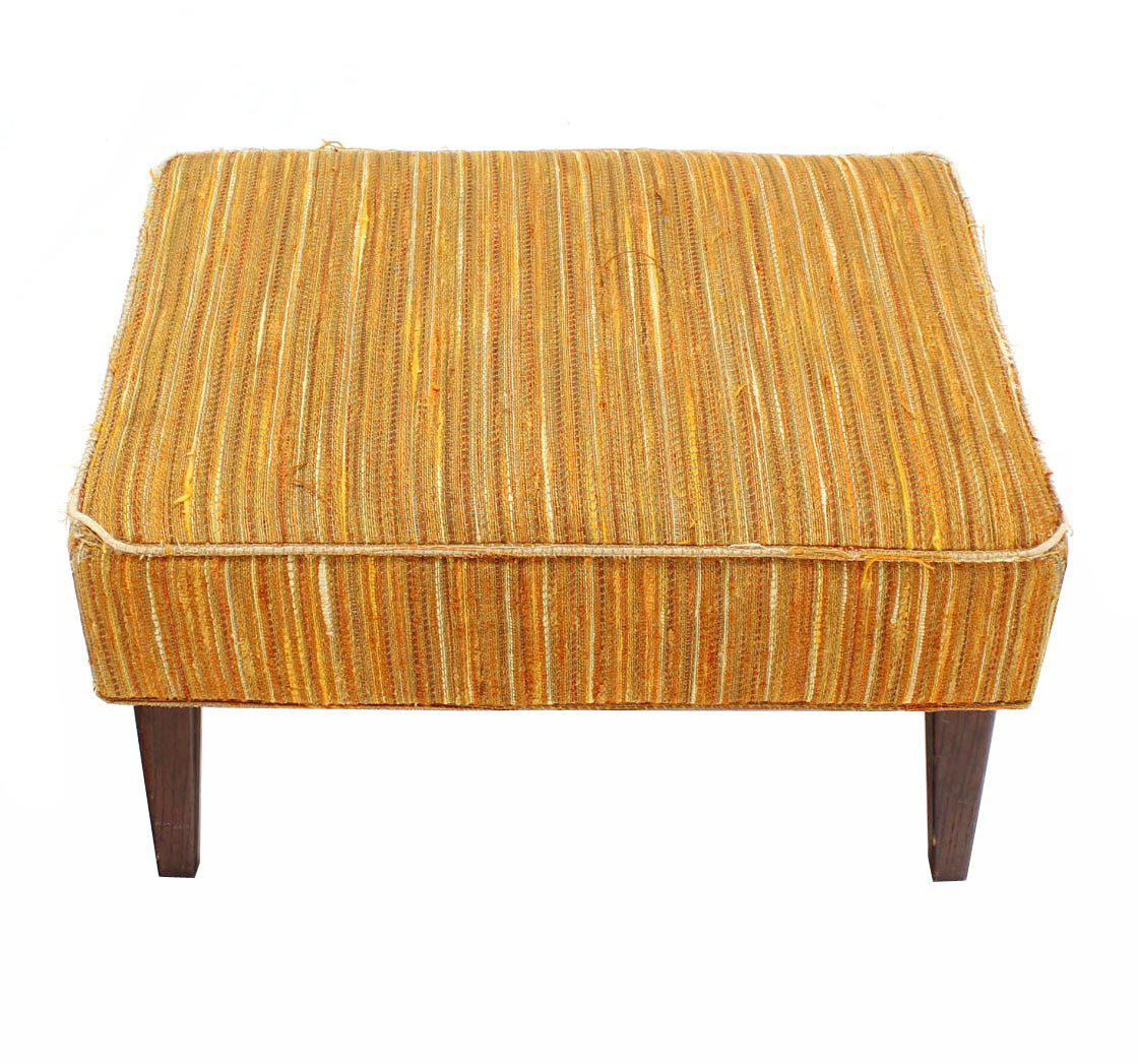 Selig Lounge Chair And Matching Ottoman With Upholstery   Image 9 Of 9
