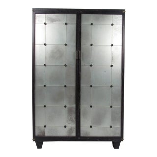 Industrial Modern Two Door Living Room Storage Cabinet