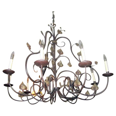 Pierre Picard 9 Light Chandelier - Image 1 of 4