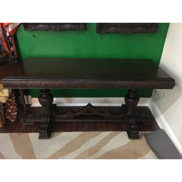 Antique Adjustable Library Table - Image 2 of 10