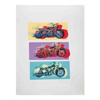 Friedbert Renbaum-Harley x 3-1994 Serigraph-SIGNED