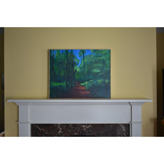 "Stephen Remick ""A Walk in the Woods"" Contemporary Painting For Sale - Image 11 of 12"