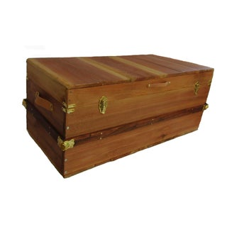 Rustic Hand Made Hope Chest Storage Trunk Preview