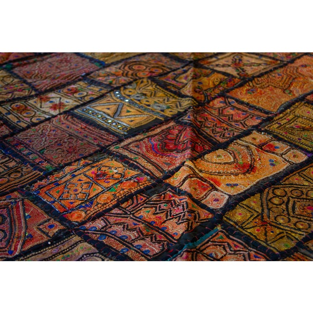 19th Century Indian Metallic Tapestry For Sale - Image 5 of 9