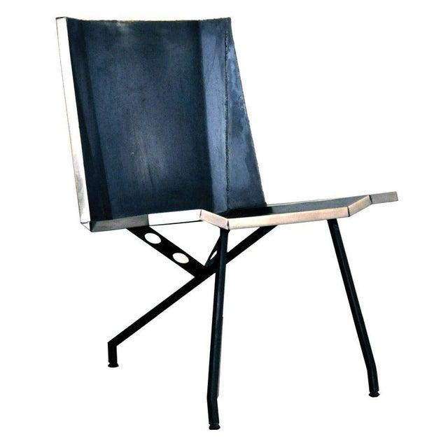 Aeronautical Inspired Lounge Chair - Image 1 of 6