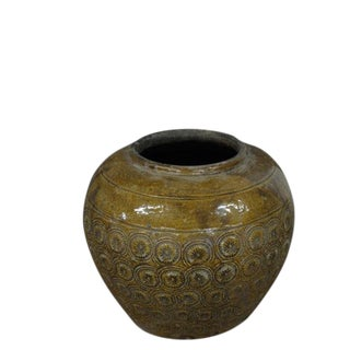 19th Century Asian Antique Pottery Vase