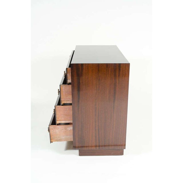 Brown Pair of Bachelor's Chests by Modern Age For Sale - Image 8 of 10