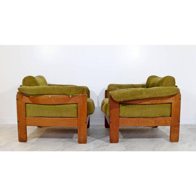 Niels Eilersen Pair of 1960s Mid-Century Modern N. Eilersen Danish Lounge Chairs For Sale - Image 4 of 12