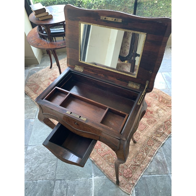 19th Century French Louis XV Style Vanity For Sale - Image 9 of 13