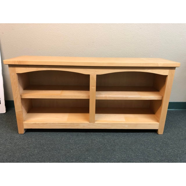 2010s Double Arch Shaker Style Bookcase For Sale - Image 5 of 5