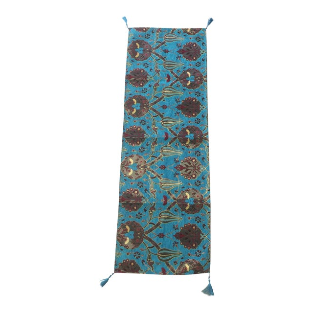Authentic Turkish Motif Table Runner For Sale