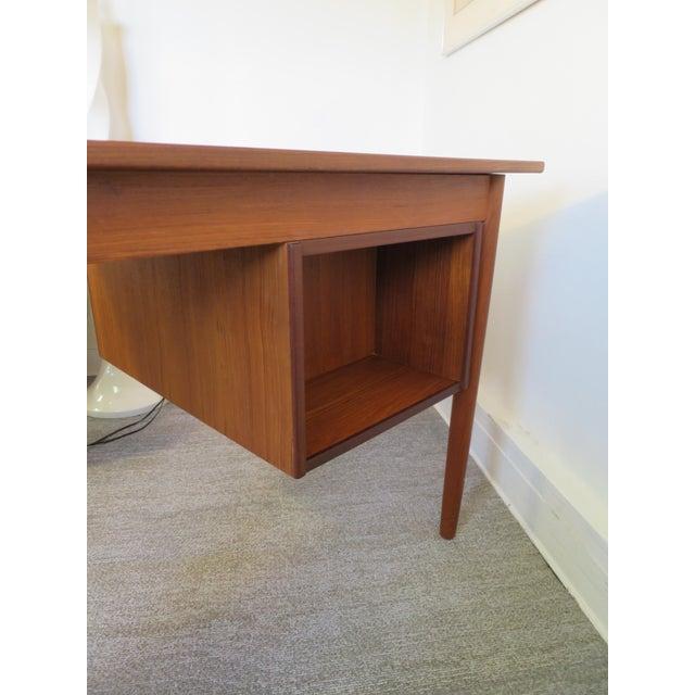 Arne Vodder Danish Modern Drop Leaf Desk in Teak - Image 9 of 9