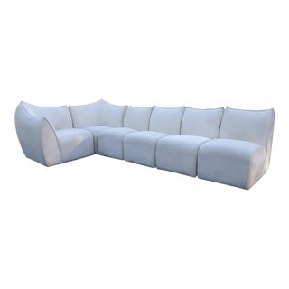 Mario Bellini for B&b Italia Le Bambole 6 Piece Sectional Sofa For Sale
