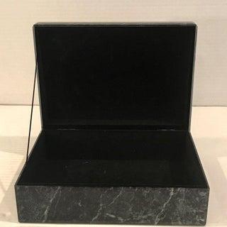Églomisé Verdigris Marble Table Box Preview