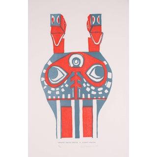 "Carol Cunningham ""Sxway Xway Mask"" Serigraph Print, 1988 1988 For Sale"