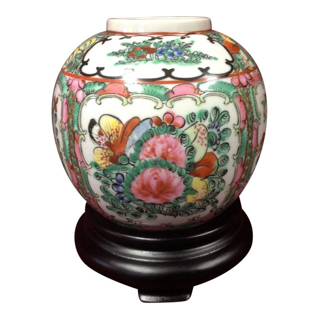 Y T Japanese Porcelain Vase Famille Rose Chairish