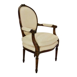 Early 20th Century Louis XVI Style Armchair For Sale