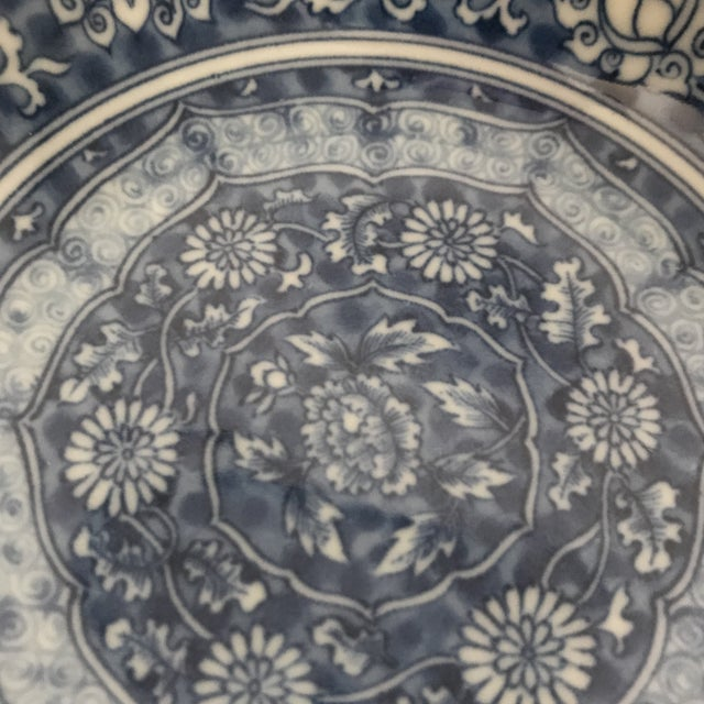 Blue & White Chinese Porcelain Bowl For Sale - Image 9 of 11