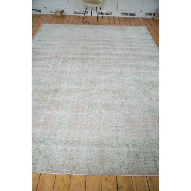 "Distressed Oushak Carpet - 9' X 12'1"" - Image 5 of 10"