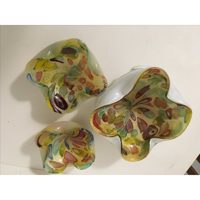 Vintage Murano Art Glass Italian Nut Dishes - 3 - Image 9 of 9
