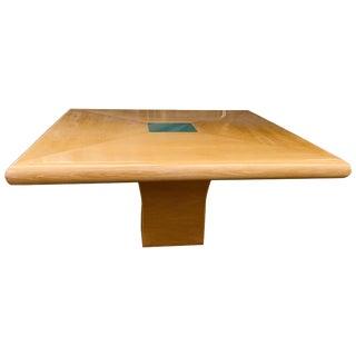 Steve Chase Arthur Elrod Designed Custom Dining Table For Sale