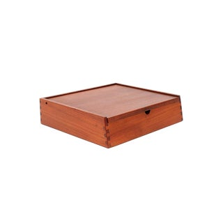 Scandinavian Teak Jewelry Box