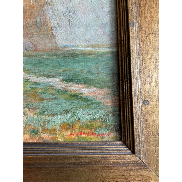 Late 19th Century 19th Century Dutch Oil Painting of a Canal Scene in the Polders, Framed For Sale - Image 5 of 11