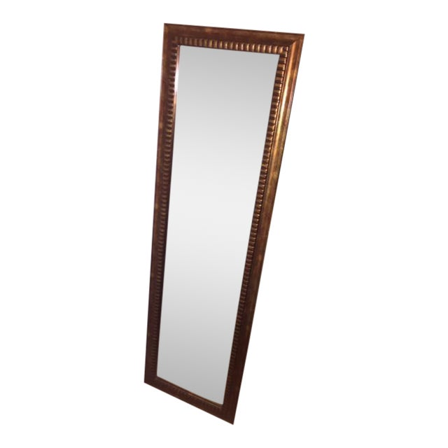 Gold Tone Full Length Mirror - Image 1 of 4