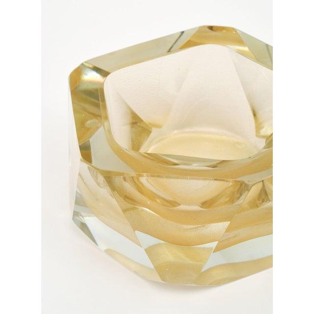 Alberto Donà Murano Glass Hand-Blown Avventurina Bowls - a Pair For Sale - Image 4 of 10