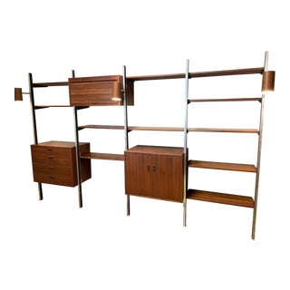 1960's Mid Century Modern George Nelson Omni Wall System For Sale