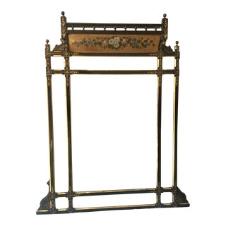 19th Century English Painted Mirror For Sale